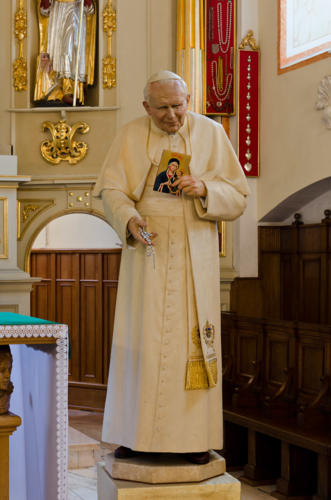 Figura św. Jana Pawła II